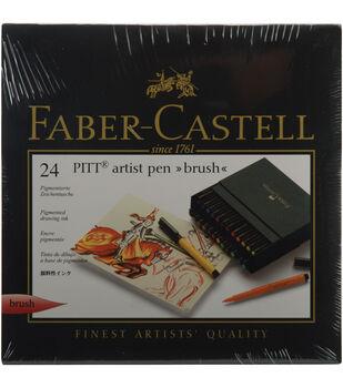 Faber-Castell Pitt Artist Brush Pens-24PK