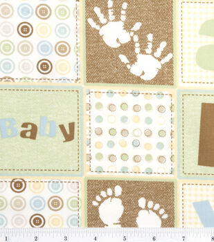 Nursery Fabric Oh Baby Patch