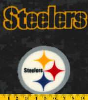 Pittsburgh Steelers NFL Digital Fleece Fabric by Fabric Traditions, , hi-res