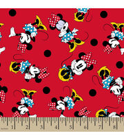 Disney® Minnie Prissy Flannel Fabric, , hi-res