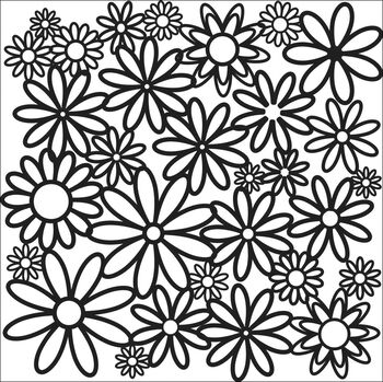 Crafter's Workshop Templates Daisy Cluster