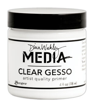 Ranger® Dina Wakley Media 4 fl.oz Mediums Clear Gesso Jar