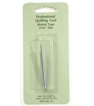 "Professional Quilling 3/16"" Slotted Tool"