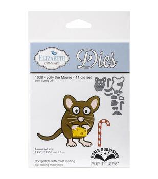 Elizabeth Craft Designs Pop It Up Steel Dies-Jolly The Mouse