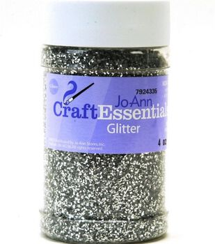 Craft Essentials Glitter-4 oz.