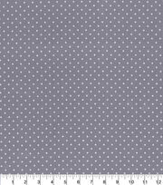 Made in America Cotton Fabric-Pearl Polka Dot Black, , hi-res