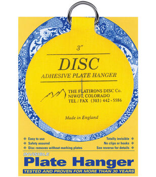 "Disc Plate Hanger 3""-For Plates Up To 8"""
