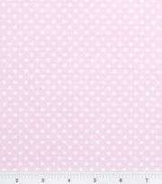 Nursery Baby Basic-Dots White on Pink, , hi-res