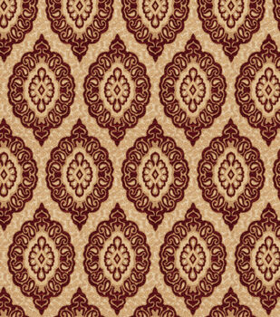 Eaton Square Upholstery Fabric-Player/Crimson