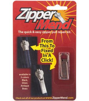 Zipper Mend Kit-Brass