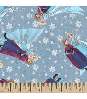 Disney® Frozen Sisterly Love Chambray Denim Fabric, , hi-res