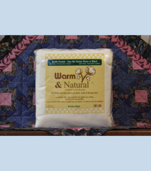 The Warm Company Warm And Natural Cotton Needled Batting Twin