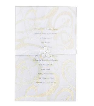 Wilton® 25ct Invitation Kit-Glitz & Glamour