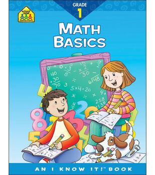 School Zone Curriculum Workbooks-Math Basics Grade 1