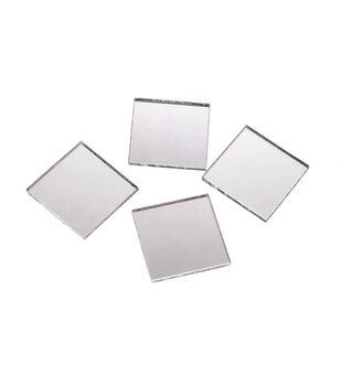 Big Value Mirrors-1 inch Square-25pc