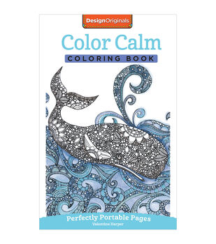 Adult Coloring Book-Design Originals Color Calm