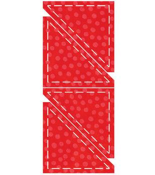 AccuQuilt Go! Fabric Cutting Die Half Square Triangle
