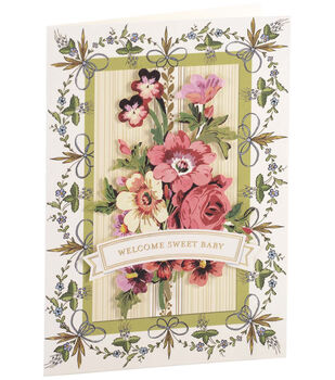 Anna Griffin Card Kit Baby Painted