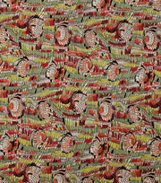 Alexander Henry Cotton Fabric-Geana  Brick Multi, , hi-res