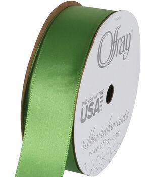 Offray 7/8''X18' Single Face Satin Ribbon-1PK