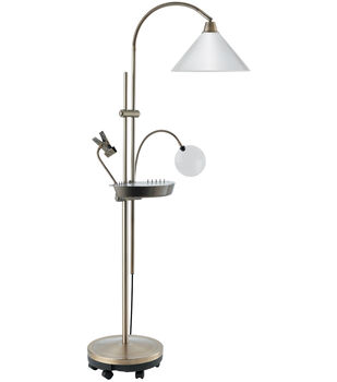Daylight Ultimate Floor Lamp-Antique Brass