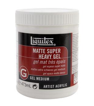 Liquitex Super Heavy Matte Acrylic Gel Medium-16 Ounces