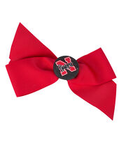University of Nebraska NCAA Hair Barrette, , hi-res