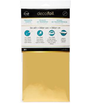 Gold -deco Foil Transfer