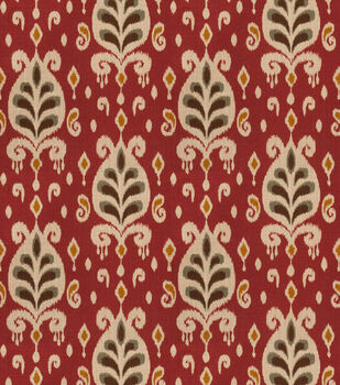 Eaton Square Print Fabric-Ringo/Henna