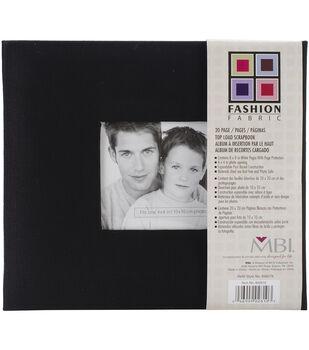 8''x8'' Fabric Postbound Album