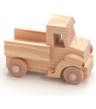 TRUCK  -WOOD TOY