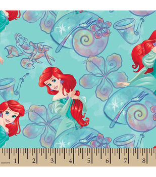 Disney® The Little Mermaid Ariel Under The Sea Cotton Fabric