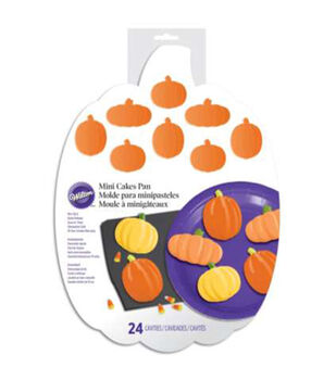 Wilton® Silicone Mold-Pumpkin Patch 24 Cavities