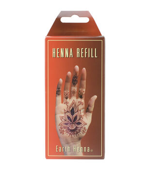 Earth Henna Orange - Body Painting Refill