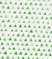 Keepsake Calico™ Cotton Fabric-Green Shaded Triangle, , hi-res