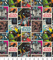 Character Cotton Star Wars Cotton Fabric -  Comic Strip, , hi-res