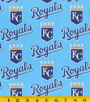 MLB Cotton Fabric-Kansas City Royals, , hi-res