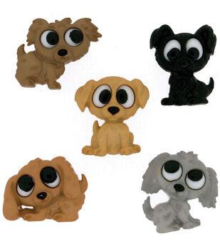 Dress It Up Embellishments-Playful Puppies