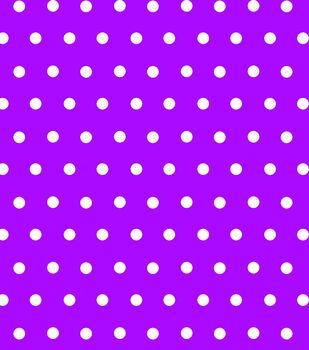 Tutti Fruiti Embellished Basic Fabric Aspirin Dot Purple