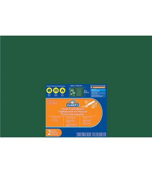 """Elmer's® 2pcs 20""""x30"""" Foam Chalkboards-Green"""