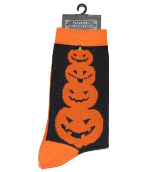 Maker's Halloween Socks-Dot Crew