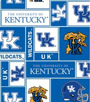 University of Kentucky NCAA  Fleece Fabric, , hi-res