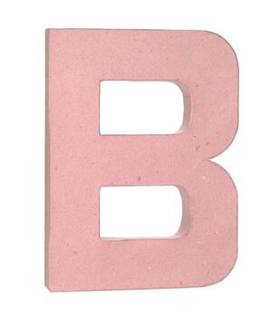 12 paper mache letter