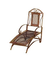 Fairy Garden Copper Mesh Lounge Chair, , hi-res