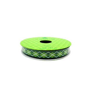 St. Patrick's Day Ribbon 0.38''x9'-Diamond Link