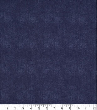 "Wide Prints Fabric-108"" Navy Texture"