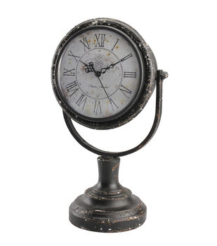 Buttercream™ Cosette Collection Round Tabletop Clock