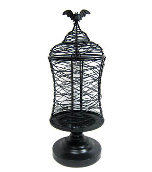 Maker's Halloween Scribble Wire Table Decor-Bat Cage