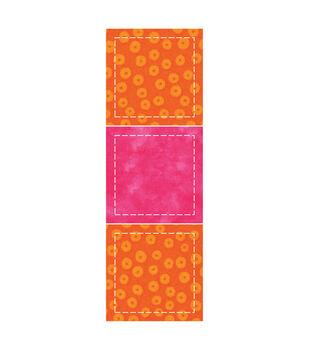 AccuQuilt GO! Fabric Cutting Die-Square/Point