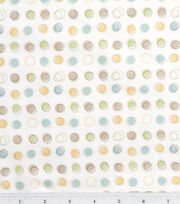Nursery Flannel Fabric Oh Baby Stitch Dot, , hi-res
